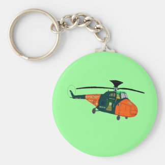 Whirlwind Helicopter Keychain