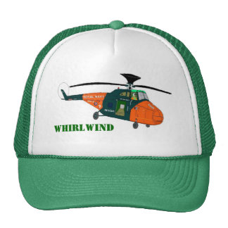 Whirlwind Helicopter Trucker Hat