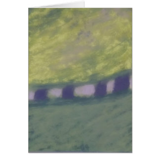 Whirlwind of Trees and Grass Notecard