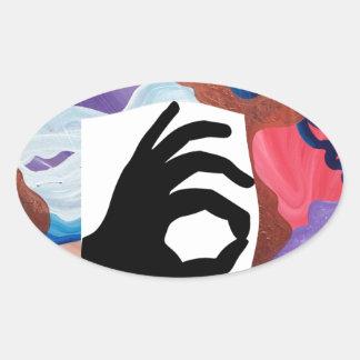 Whirlwind OK Oval Sticker