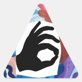 Whirlwind OK Triangle Sticker