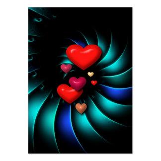 Whirlwind Romance Romantic Sweethearts Business Card