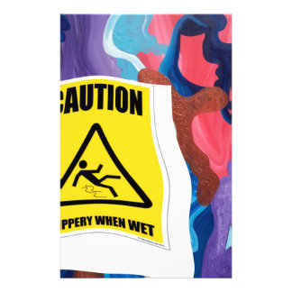 Whirlwind Slippery When Wet Stationery