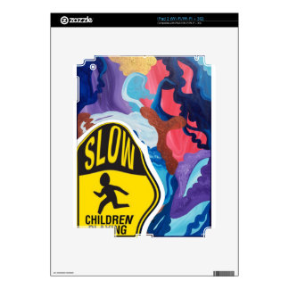 Whirlwind Slow Children Playing iPad 2 Skins