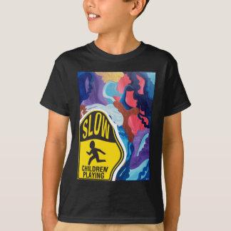 Whirlwind Slow Children Playing T-Shirt