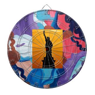 Whirlwind Statue Of Liberty Dart Board