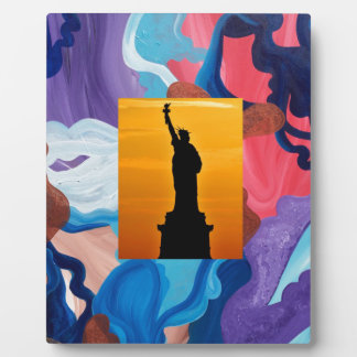 Whirlwind Statue Of Liberty Plaque