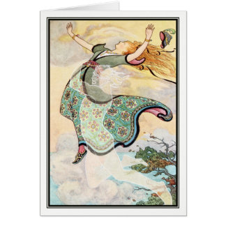 Whirlwind the Whistler by Frank C. Papé Pape Card