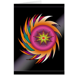 Whirly Greeting Card