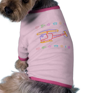 Whirly-Curly Helicopter Pet Tshirt