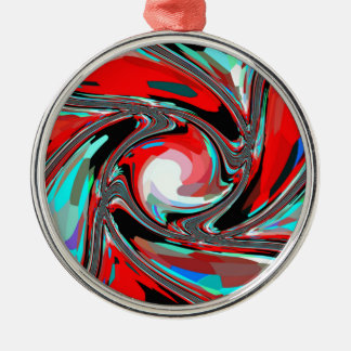 WHIRLY GIG METAL ORNAMENT