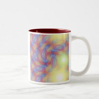 Whirly Spark Two-Tone Coffee Mug