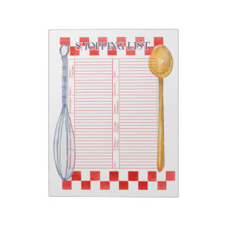 Whisk and Spoon Notepad
