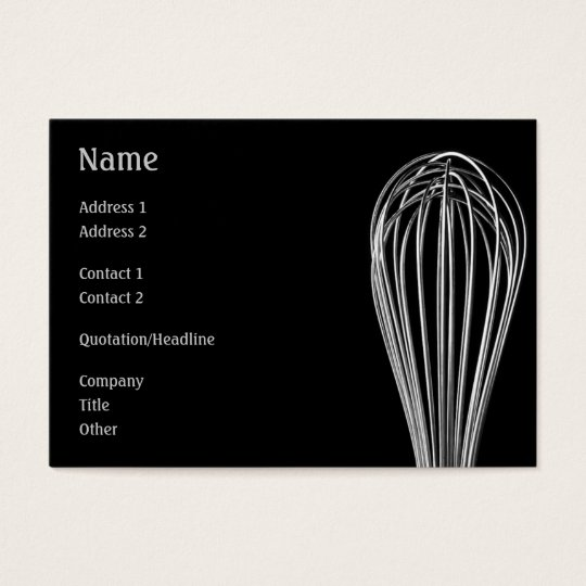 Whisk Profile Card