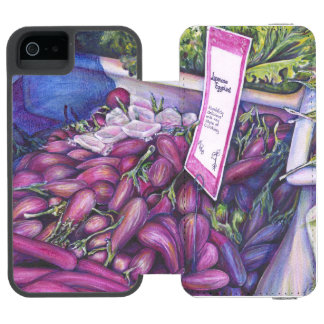 Whisk Well for Whale Soup iPhone SE/5/5s Wallet Case