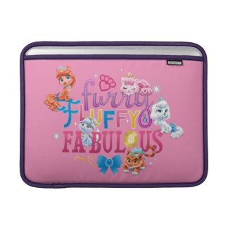 Whisker Haven | Furry Fluffy & Fabulous Sleeve For MacBook Air