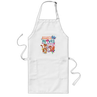 Whisker Haven | Hearts Hooves Paws Graphic Long Apron
