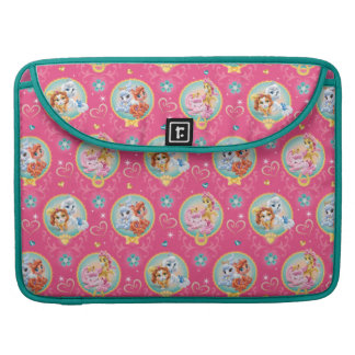 Whisker Haven | Hearts Hooves Paws Pattern MacBook Pro Sleeve