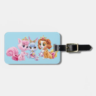 Whisker Haven | Royalty at Play Luggage Tag