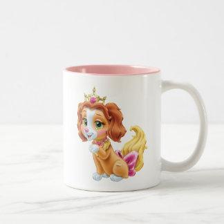 Whisker Haven   Teacup Two-Tone Coffee Mug
