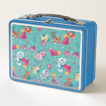 Whisker Haven | Unleash the Fun Pattern Metal Lunch Box