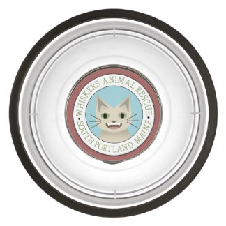 Whiskers Animal Rescue Large Pet Bowl