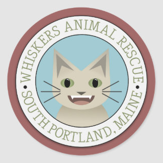 Whiskers Animal Rescue Stickers