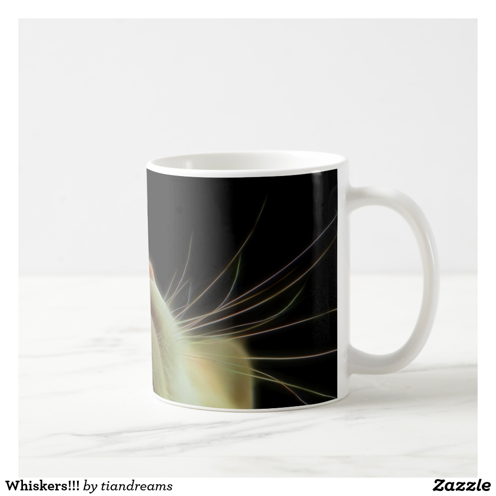 Whiskers!!! Coffee Mug - Stylish, Designer Drinkware With Unlimited Creativity