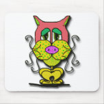 whiskers mouse pad