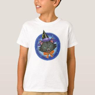Whiskers the Halloween Cat: Kids' Basic Comfort T-Shirt
