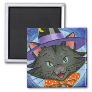 Whiskers the Halloween Cat: Magnet