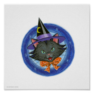 ©Whiskers the Halloween Custom Print