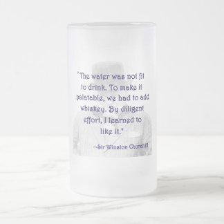 Whiskey and Churchill Mug