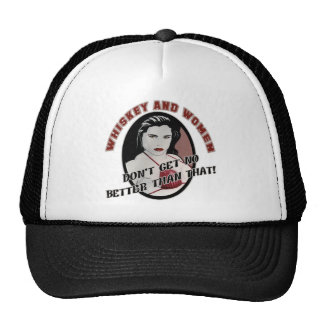 Whiskey And Women Beer T-shirts Gifts Trucker Hat