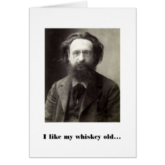 Whiskey and Women Greeting Card