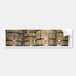 Whiskey Barrels Bumper Sticker
