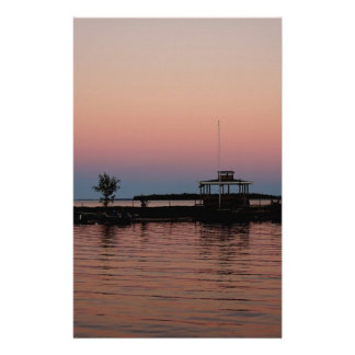 Whiskey Bay Sunset, St Joseph Island Stationery