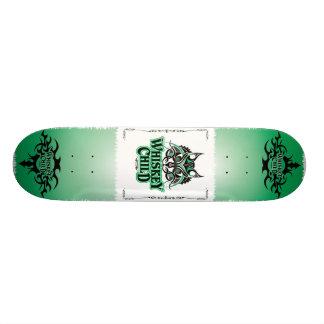 WHISKEY CHILD - Skateboard with Album Art