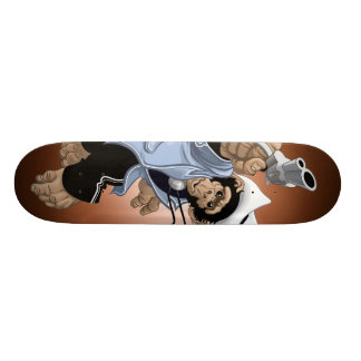 Whiskey Chimp Shoot Skateboard
