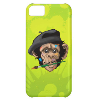 Whiskey Chimp Splattered iPhone Case iPhone 5C Cover
