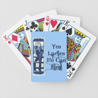 Whiskey Confessions Band Bicycle Playing Cards