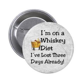 Whiskey Diet Button
