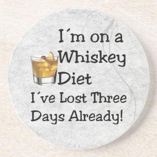 Whiskey Diet Sandstone Coaster