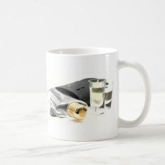 Whiskey Flask and Shot Glasses Coffee Mugs