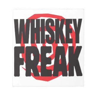 Whiskey Freak Scratch Pad