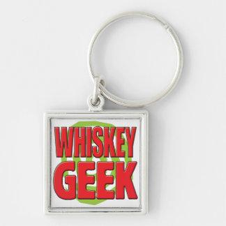 Whiskey Geek Keychain