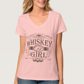 Whiskey Girl Buckle T-shirts