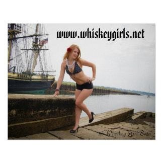 whiskey girl sam poster