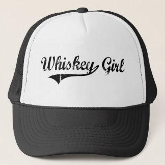 Whiskey Girl Trucker Hat