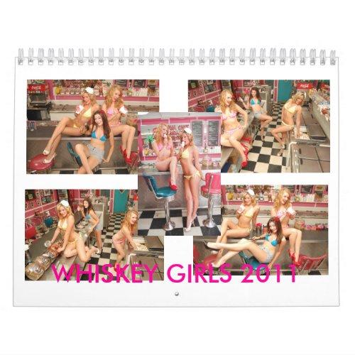 Whiskey Girls 2011 calendar